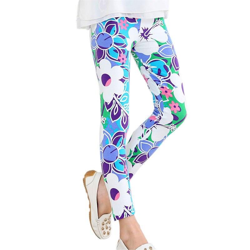 2-14Y-Baby-Kids-Girls-Leggings-Pants-Flower-Floral-Printed-Elastic-Long-Trousers-Hot-1