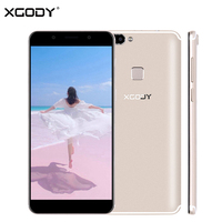 XGODY S14 5.72 Inch 18:9 Smartphone Face ID 4 Camera Full Screen 3G Dual Sim Mobile Phone Quad Core 1GB+8GB 2100mAh Cellphone