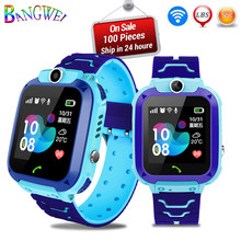 2019 New Smart watch LBS Kid Smart Watches Baby Watch for Children SOS Call Location Finder Locator Tracker Anti Lost Monitor(China)