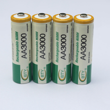 4Pcs original rechargeable batteries AA 800MAH  battery 1.2V 2A high capacity 800MAH NI-MH battery