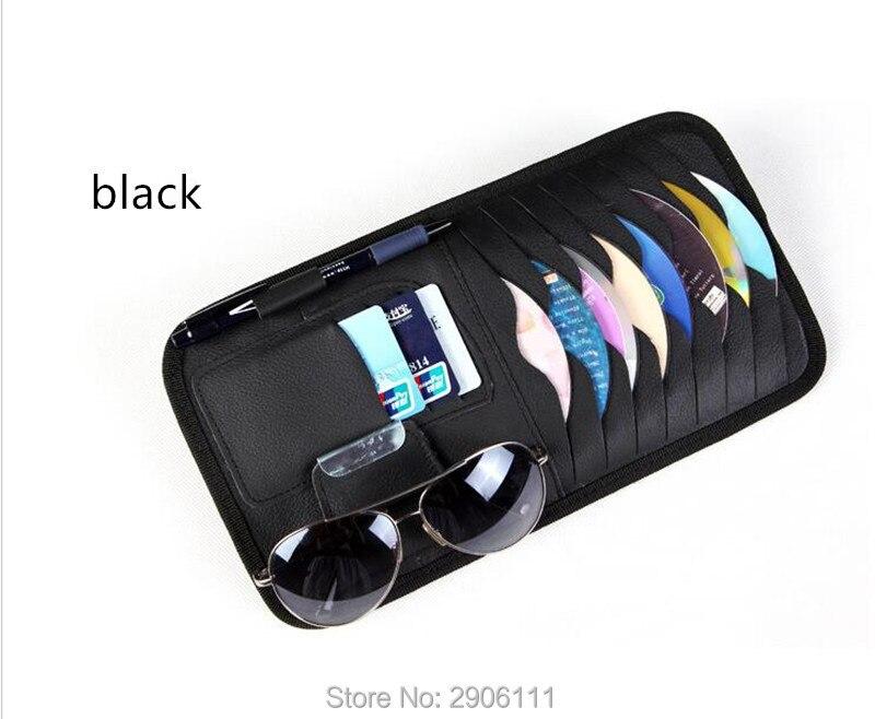 Disc Storage CD DVD eneral Car Sun Visor/card holder for DAIHATSU terios sirion yrv charade feroza mira accessories Car-styling