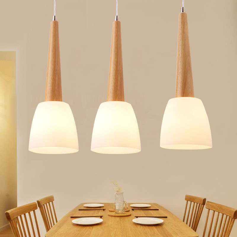 Vintage LED Wood Pendant Lamps Modern Indoor Pendant Lamp For Dining Room Home Decoration Luminary E27 Lighting Fixture Hanglamp brass half round ball shade pendant light led vintage copper wooden lighting fixture brass wood fabric wire pendant lamp