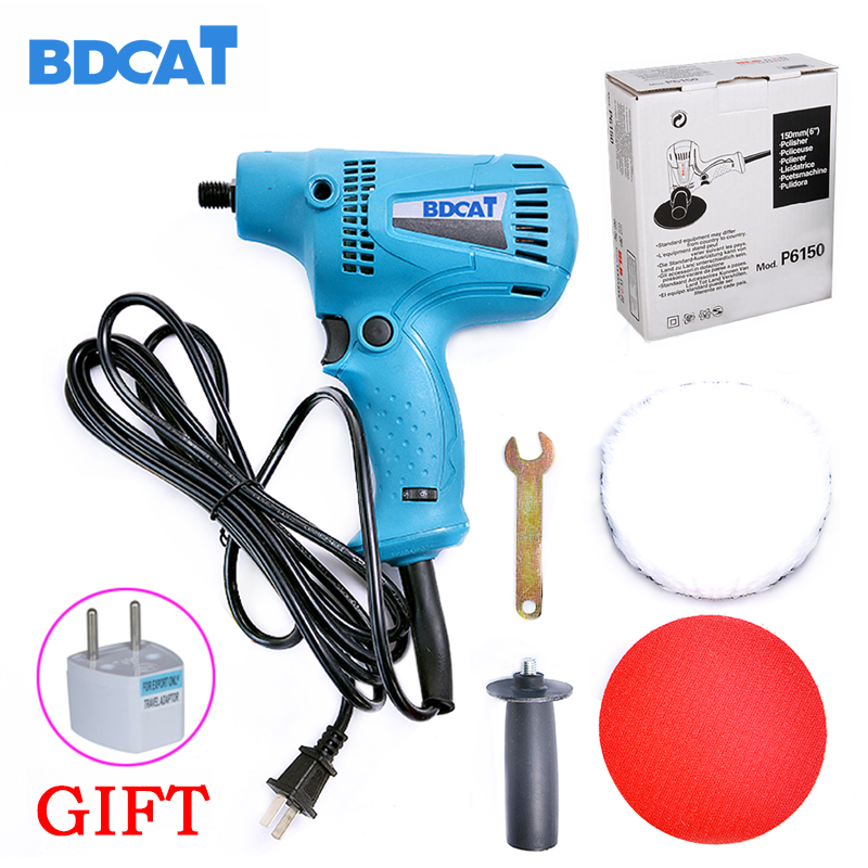 BDCAT Original 220v 4500rpm Electric Polishing Machine Car Polisher Cleaner with six Speed control function car polish machine 12v electric car wash machine electric clean and polish brush electric car cleaner with telescopic rod