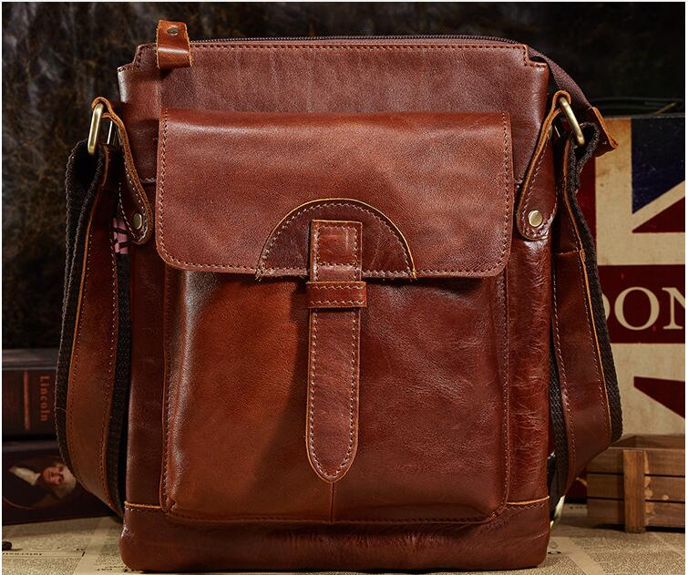 New arrival first layer cowhide male messenger bag business bag man shoulder bag one shoulder cross body bag genuine leather wire man bag 2017 handbag male shoulder bag cross body bag commercial document bag