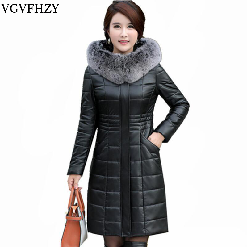 Mode Hiver Veste Femmes Renard Col De Fourrure Duvet de Canard Blanc vestes Manteau Chaud Femelle Épais Parka Casaco Feminino Plus La taille L-8XL