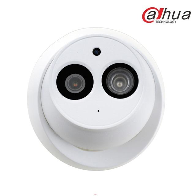 Dahua 4MP POE H.265 caméra de sécurité multi-langue IPC-HDW4433C-A 4 pièces réseau Mini IP caméra de vidéosurveillance intégré micro 2.8mm objectif