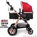 Peso cochecitos de bebes portátil carrinho de criança Dobrável Luz Carrinho de Bebê Carrinho de Bebê Guarda-chuva Carrinho de bebê carrinho de Carrinho de Viagem