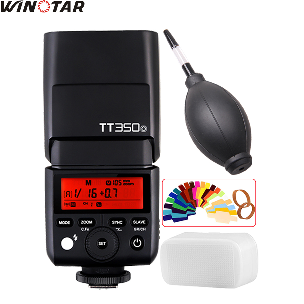Godox TT350 Mini Flash Speedlite TT350O TTL HSS GN36 for Panasonic DMC-GX85 DMC-G7 DMC-GF1 DMC-LX100 DMC-G85 свитшот print bar dmc dante