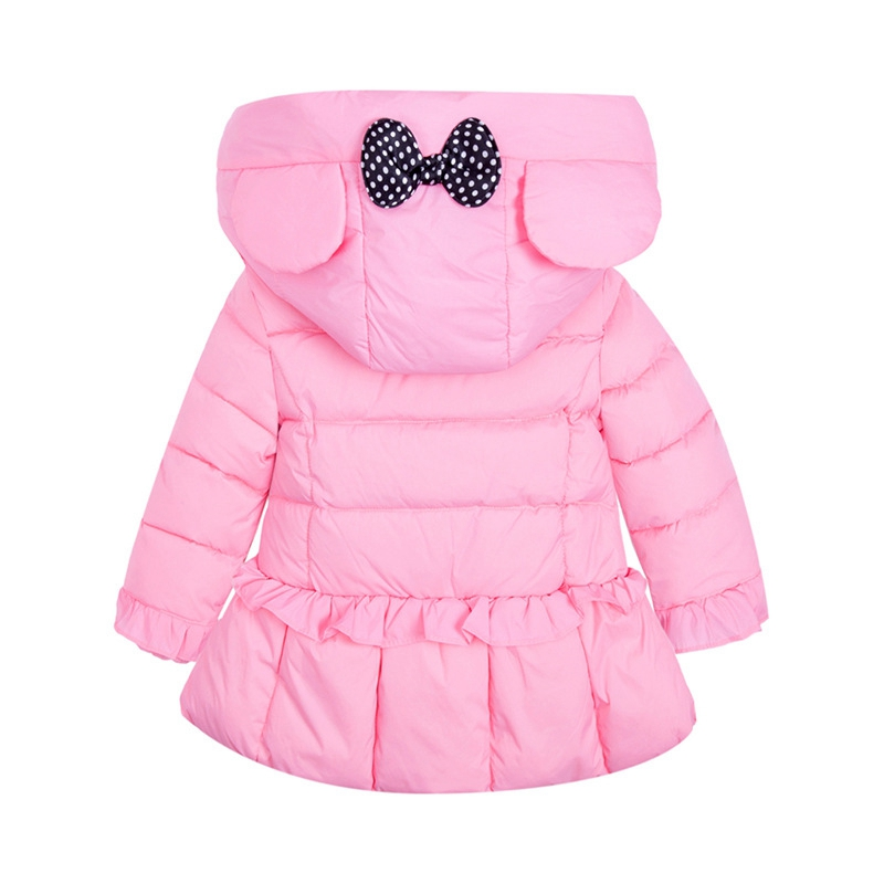 Quality New Fashion Outwear Thin Hooded White Duck Down Winter Jacket For Girls Thick Warm Coat Children's Clothing Parka 3T-8T