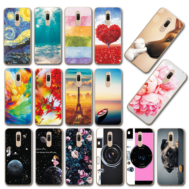 Cute Art Cases Coque For Meizu M6T M 6T Flower Soft Silicone Novelty Phone Shell For MeizuM6T M811H 5.7