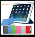 Ultra Slim Magnetic Cover for Apple iPad 2 Case Connected Wake UP Smart Case for iPad 3 Cover Matte Cover for iPad 4 Case 9.7''