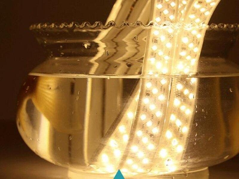 2835 bande LED smd lumière IP65 LED étanche bande flexible bande lumière 180 LED s/m décor à la maison lampe - 5