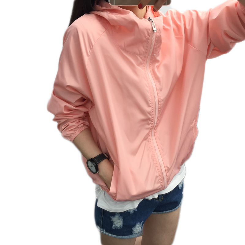 Women Bomber   jackets   Fashion   jacket   coat sun protection clothing baseball clothing coat for women Loose   basic     jackets