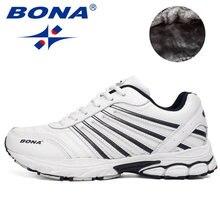 d7c6d8aa Bona nuevo estilo excelente hombres Zapatillas para correr Encaje up Zapatillas  de atletismo al aire libre