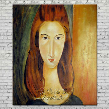 Reproduction Modigliani Hand Painted , Modigliani  Most Famous Painting for living room Bed Room decorative
