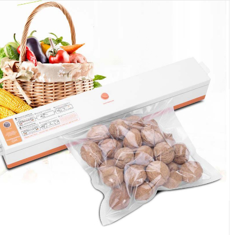 все цены на Household Food Vacuum Sealer Packaging Machine Maintaining 220V Film Sealer Vacuum Packer Including 15Pcs Bags онлайн