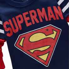 Cute Superman Themed Casual Cotton Baby Boy's Sweatshirt