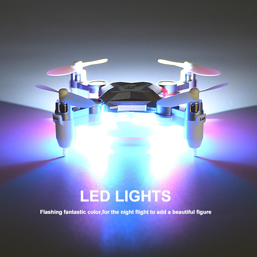 Image 2 - Pocket drone  Mini UAV Portable Unmanned Aerial Vehicle Folding Portable Aircraft Remote Helicopter-in RC Helicopters from Toys & Hobbies