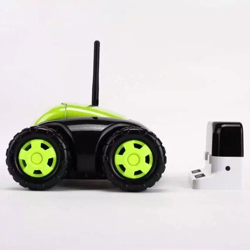 Sammeln & Seltenes Neue Rc Auto Mit Kamera 4ch Wifi Tank Wolke Rover Tragbare Ip-kamera Haushaltsgeräte Ir Fernbedienung One Button Startseite Fswb