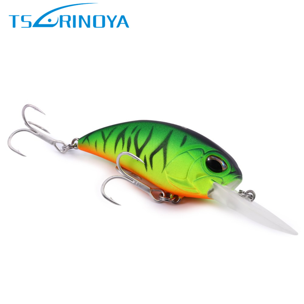Trulinoya 6cm 16g Fly Fishing Lure VMC Hook Fishing Hard Bait Crankbait Wobblers Artificial Bait For Sea Carp Fishing Pesca 1pc yellow colors 150g carp trulinoya wobblers fish hard hook fishing lures lake river feeder isca artificial vissen iscas