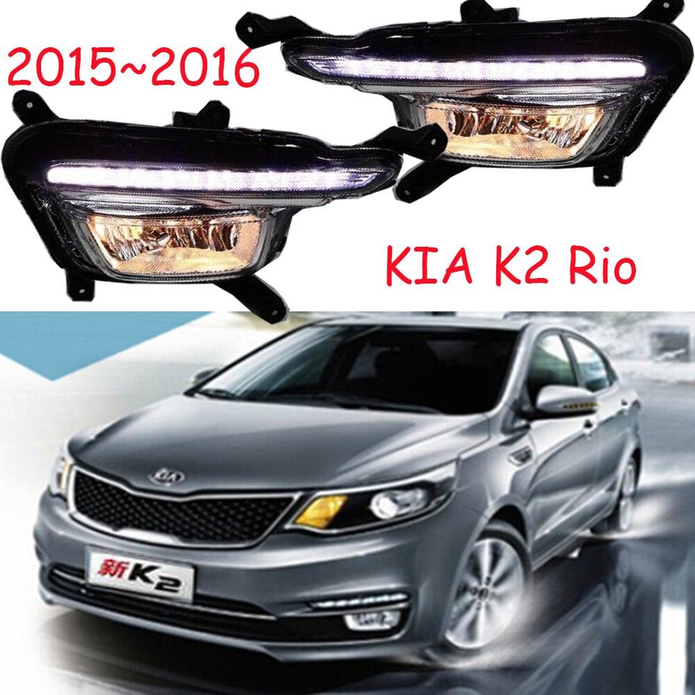 LED, 2015 ~ 2016 KlA K2 jour la Lumière, K2 brouillard lumière, K2 phare; âme, spectora, k5, sorento, kx5, Sportage R, K 2, Rio