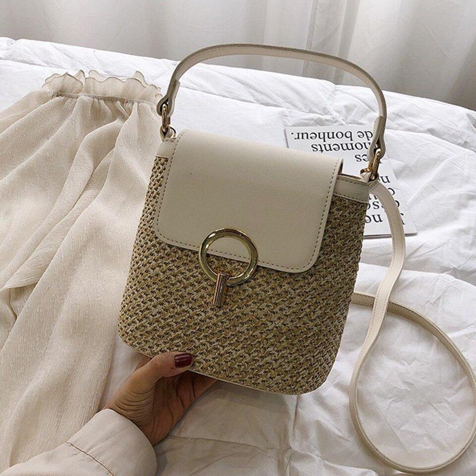 Straw Bucket Bag (7)