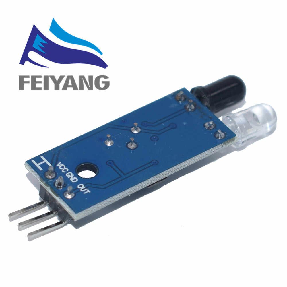 スマートエレクトロニクススマート車のロボット反射光電 3pin ir赤外線障害物回避センサーモジュールarduinoのdiyキット