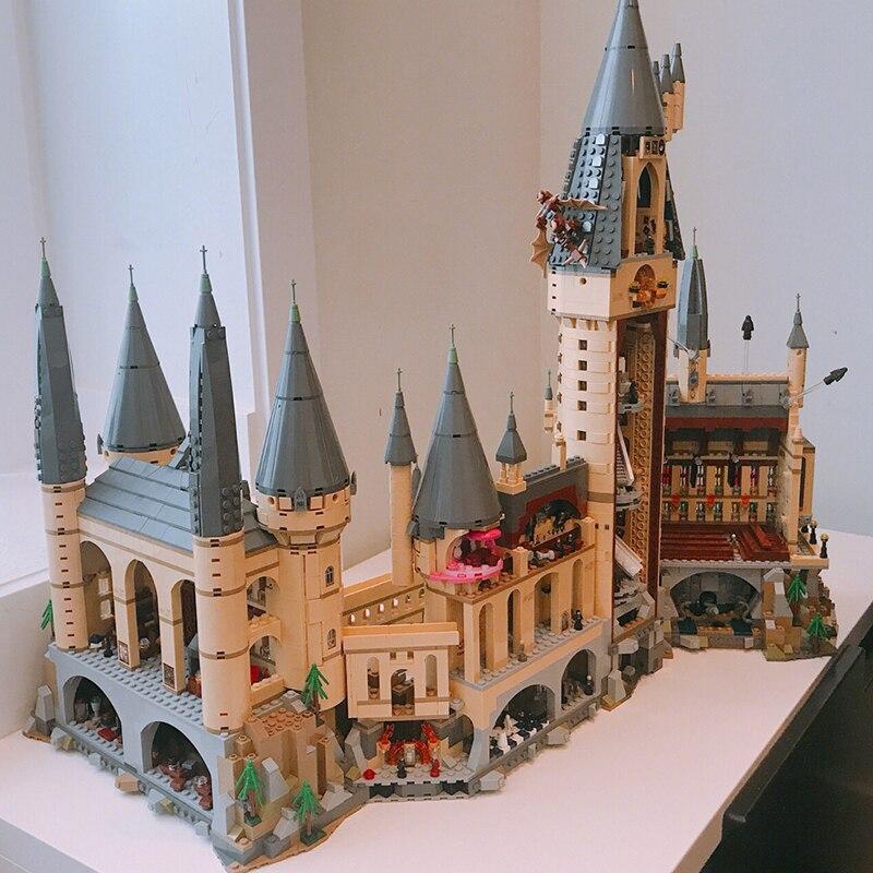DHL Harry Potter château magique Hogwart Compatibel château avec soin 71043 Bouwstenen Bakstenen maternelle Kerst bricolage Speelgoed