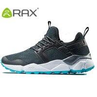 RAX Men's Hiking Shoes Winter Suede Leather Cushioning Mountain Shoes Men Antiskid Trekking Shoes Women Lightweight Walking Shoe