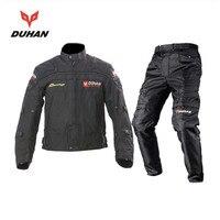 Духан мотоциклетная куртка + брюки Мотокросс трикотаж и брюки Внедорожный гоночный костюм Мотоциклетные аксессуары наколенники защитные б