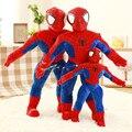 1 шт. stand-Паук Фаршированные Плюшевые Игрушки Мстители Человек-Паук плюшевые Куклы день рождения рождественский Подарок Для мальчика малыша бесплатно доставка