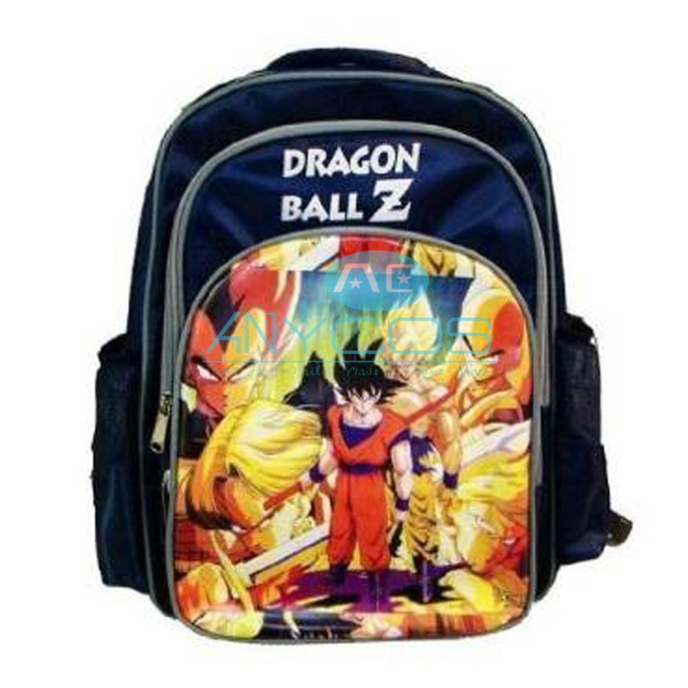 fashion nylon dragon ball z schoolbags b child cosplay bag student backpack gift free shipping in movie tv costumes from novelty special use on - Cartable Dragon Ball Z