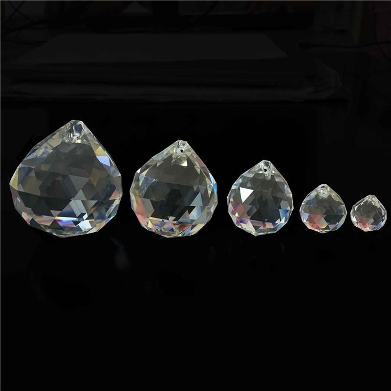 1 Stk / partij 100mm Glas Kroonluchter Ballen Crystal Facet Prisma - Feestversiering en feestartikelen - Foto 2