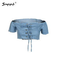 SIMPVALE Sexy Chiffon Bustier Bralet Cropped Vest Summer Female Solid Color Camis Hole Off Shoulder Tank