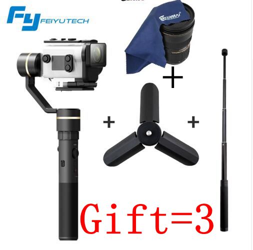 Feiyutech Feiyu G5GS Handheld 3-Axis Brushless Splashproof Gimbal Stabilizer for Sony AS50 AS50R Sony X3000 X3000R free shipping feiyu tech g4 gs gimbal 3 axis brushless gimbal for sony hdr az1vr fdr x1000v as series sport auction camera
