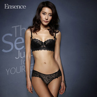 Ensence Women Summer Thin Style 1 2 Cup Lace Sexy Beauty Bra Sets Girls Breathable Underwear