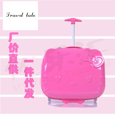 Здесь продается  Travel tale cartoon lovely ABS 17 inches Rolling Luggage Spinner brand Travel Suitcase Fashion children travel Luggage  Камера и Сумки