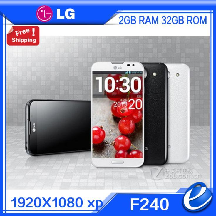 Цена за F240 оригинальный LG Optimus G Pro версия ес E980 E988 F240L F240S F240K открыл мобильный телефон 2 ГБ оперативной памяти 32 ГБ 13MP 4 г LTE восстановленное