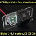 CCD Câmera de visão Traseira Do Carro de BackUp Reversa Câmera de Estacionamento para BMW X3 X5 E53 E70 E71 E83 E72 X6 Série 3 326 327 328 330 335 E93