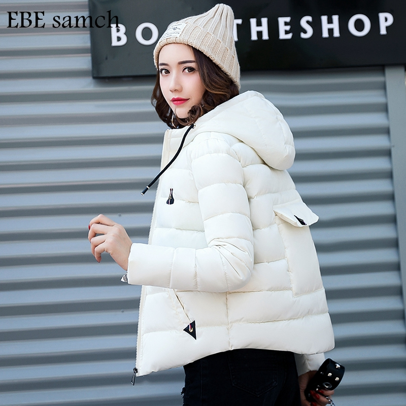 New Brand Winter Jacket 2017 Women Coat Warm Parkas High Quality Cotton Coat Thick Women Coat Female Outside Overcoat L-XXL