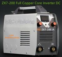 ZX7 200 full copper core small home 220V ARC MMA Welding Machine 200A Phase Welder DC Inverter Digital Dsplay welding apparatus