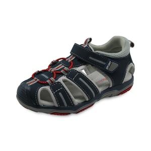 Image 5 - Apakowa marka yeni yaz çocuk plaj erkek sandalet çocuk ayakkabı kapalı ayak kemer desteği spor sandalet ab boyutu 21 32
