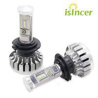2pcs Lot LED Car Headlights Philips Chips 80W H4 HB2 LED Headlight Kit Bulbs Hi Lo
