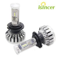 2pcs Lot LED Car Headlights Philips Chips 80W H4 HB2 LED Headlight Kit Bulbs Hi Lo