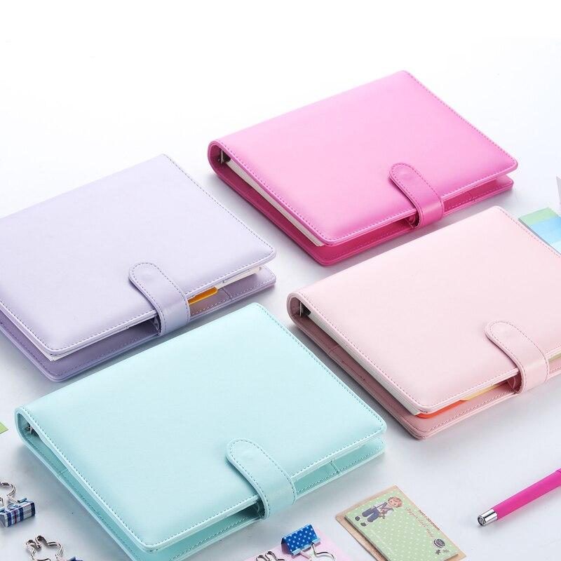 Macaron 2,0 nette spirale notebooks schreibwaren, feine büro schule persönliche agenda organizer/binder tagebuch wöchentlich planer geschenk A5 A6