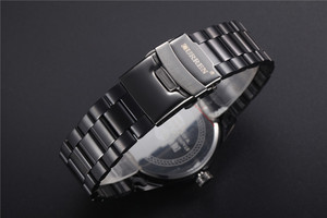 Image 5 - CURREN New Fashion Men Watches Full Steel Wristwatch Classic Business Male Clock Casual Military Quartz Calendar Watch Reloj