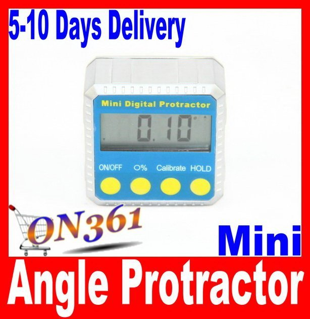 High Quality  Accuracy Digital Protractor Inclinometer Angle Gauge 4 X 90