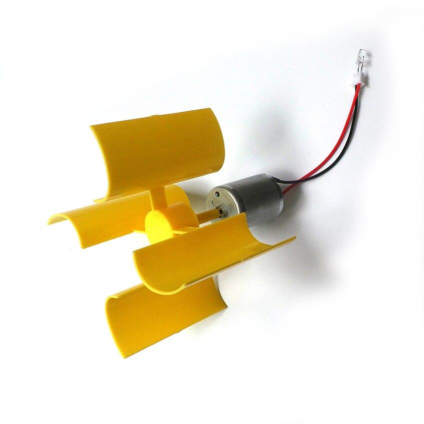 Miniature wind turbine vertical axis wind Alternative Energy generator DIY technology making physical power principle