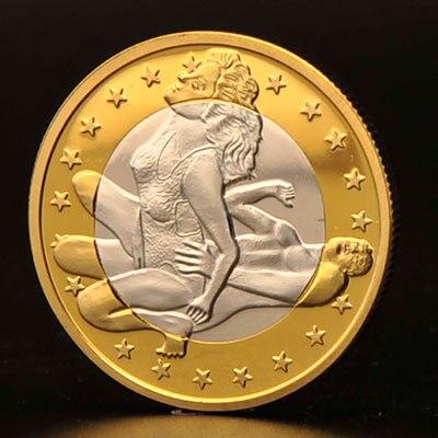 Секс монета евро