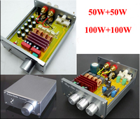 Breeze Audio BA505/BA100 HIFI 2.0 stereo digital audio power amplifier TPA3116 high power version of the material 50WX2&100W*2